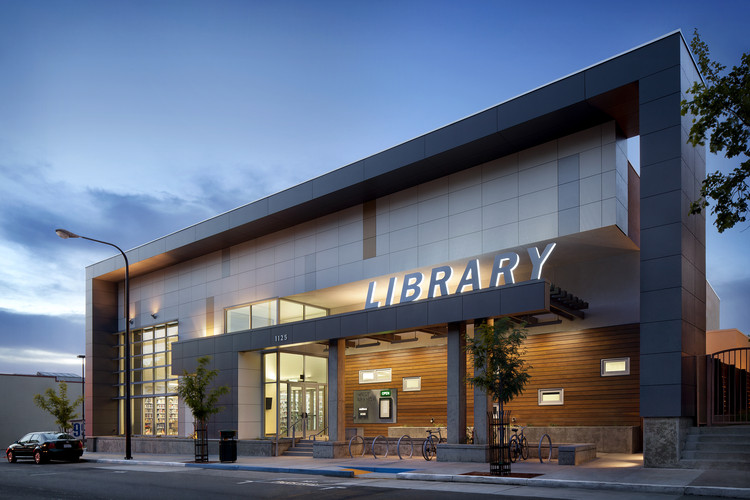 West Branch of the Berkeley Public Library; Berkeley, CA