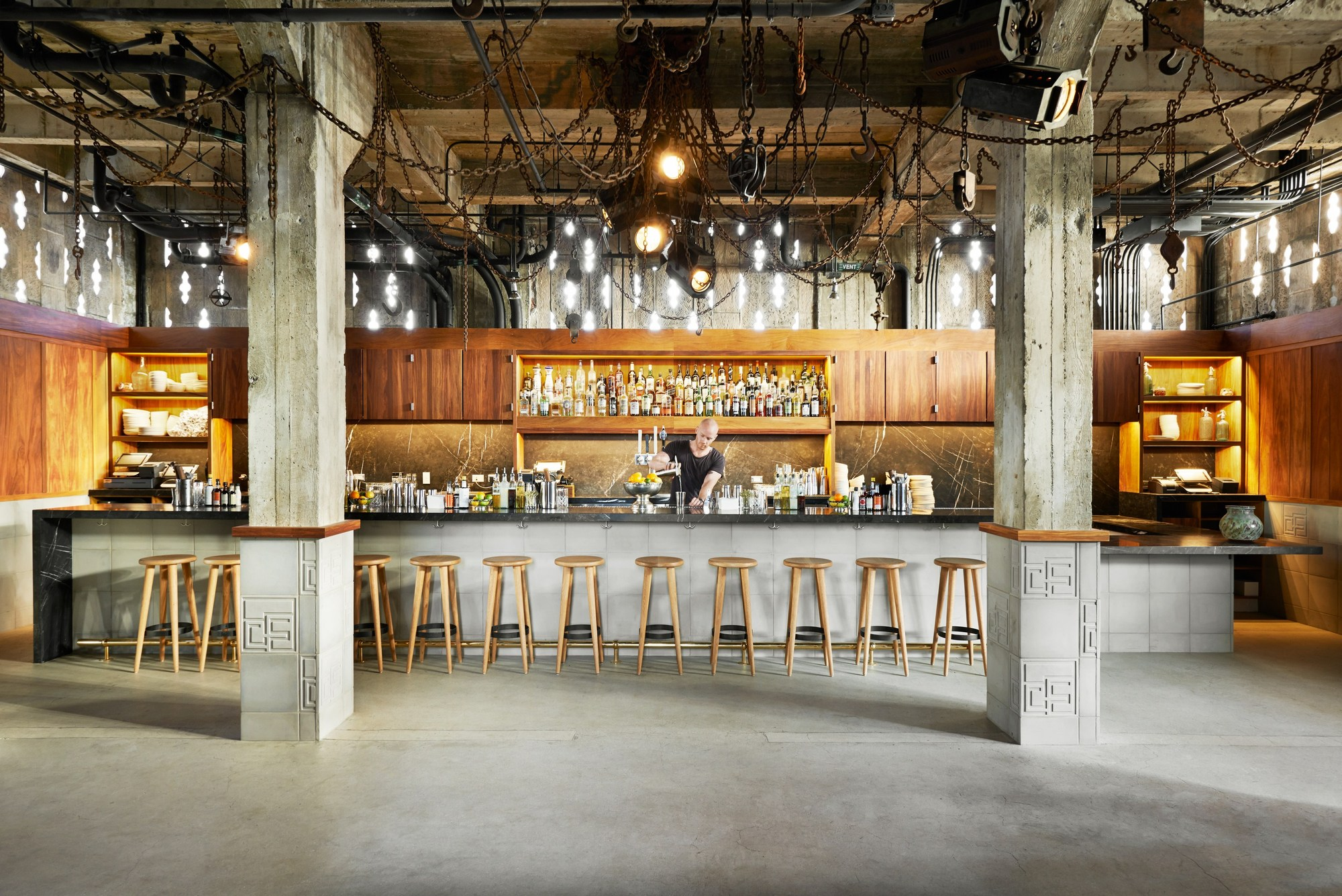Ace hotel downtown la commune design archdaily for Design hotel los angeles