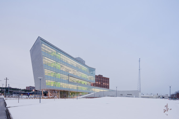 Syracuse Center for Excellence, Syracuse, NY. Image © Iwan Baan