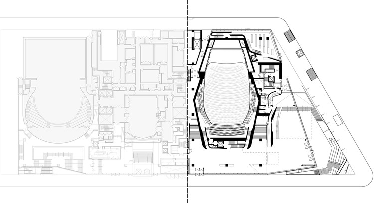 Plaza Level Plan
