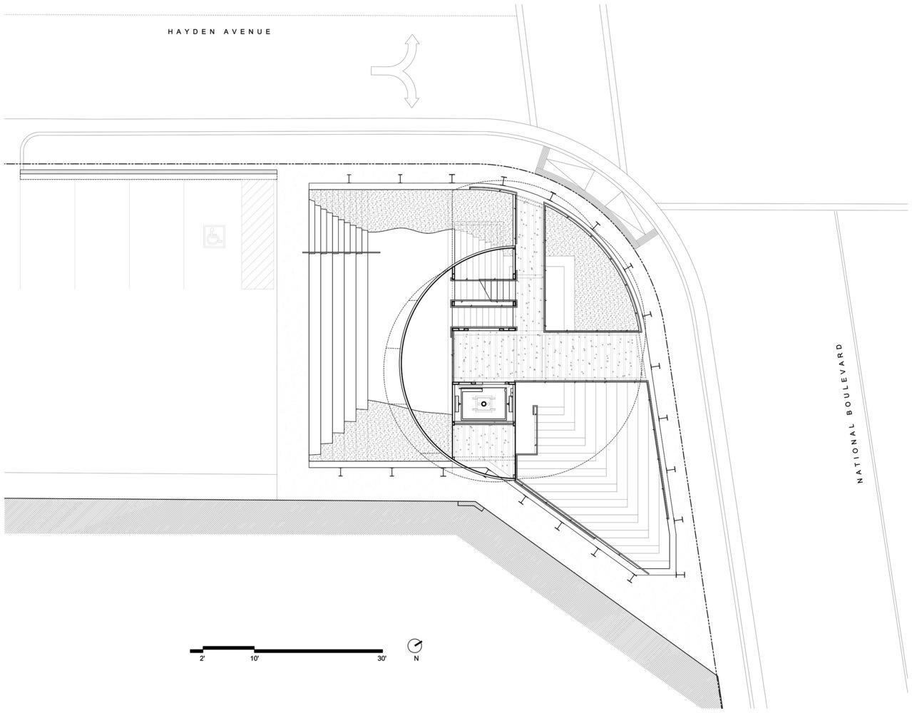 gallery of samitaur tower eric owen moss architects 28 samitaur tower ground level floor plan