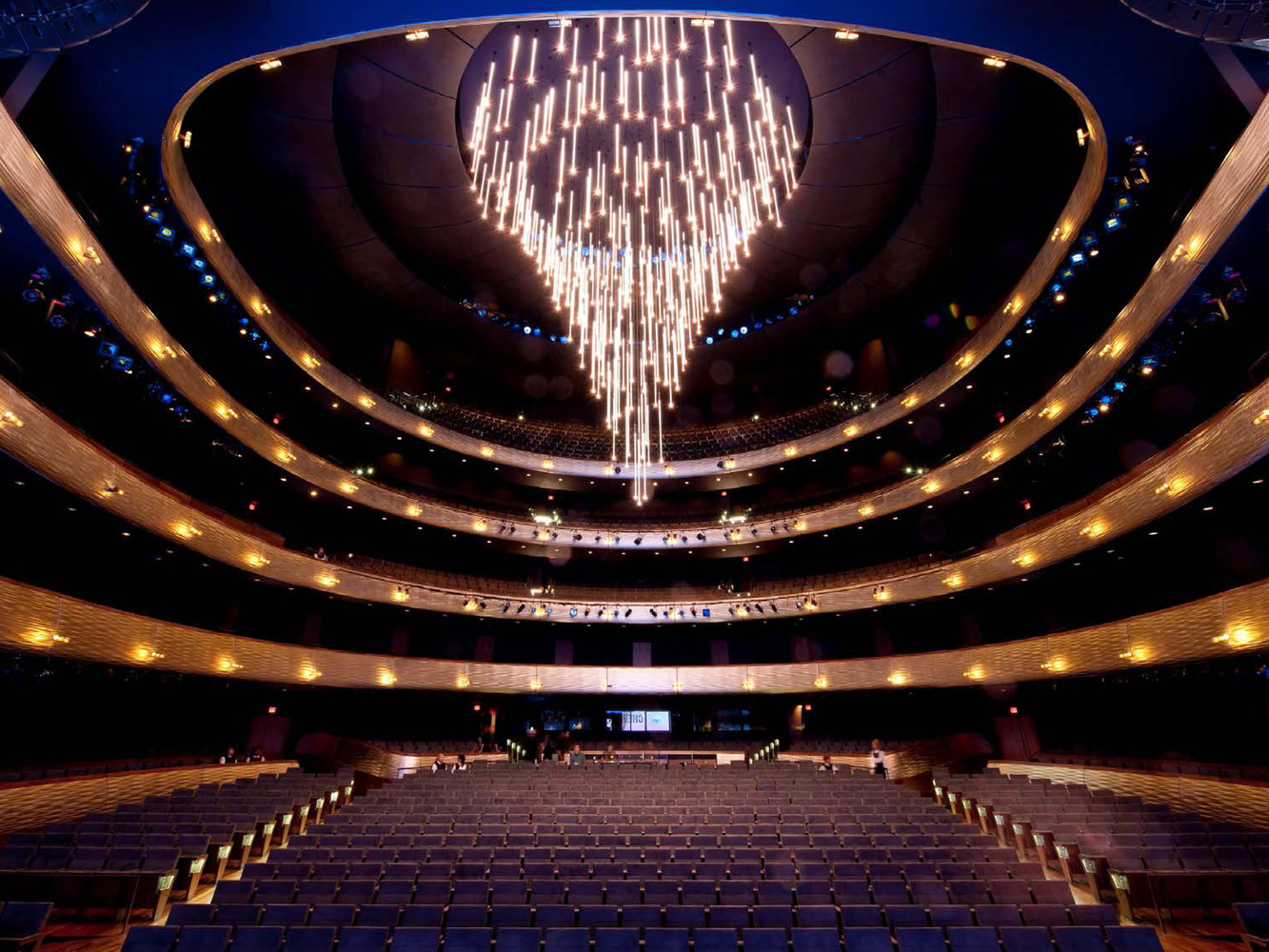 Pure Essence In Winspear Opera Houseby Foster Partners