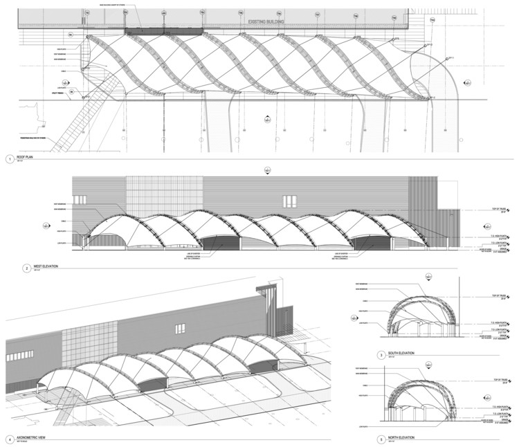 Roof Plan + Elevations
