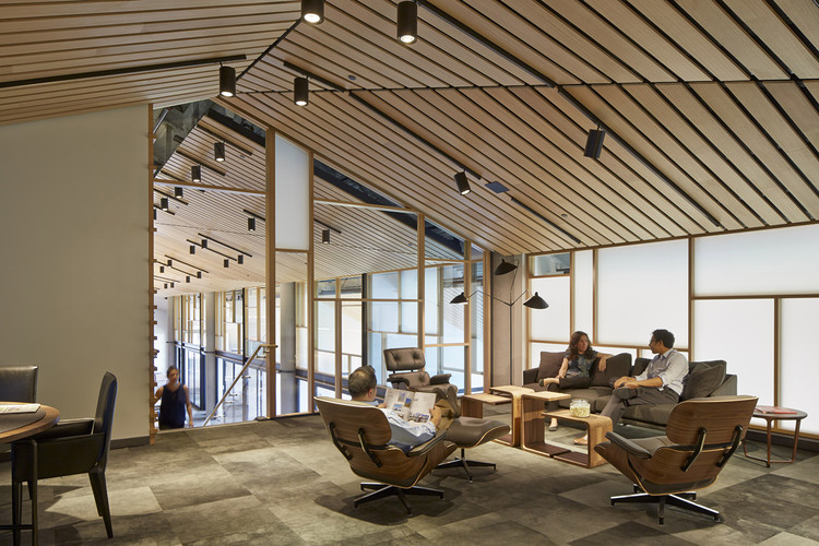 courtesy of gould evans capital office interiors