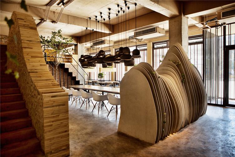 Café Shan / Robot3 Design, © Xi-Xun Deng
