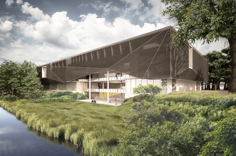 PLAN Arquitectos gana concurso de ideas de la Universidad Austral de Chile en Valdivia, Cortesía de PLAN Arquitectos