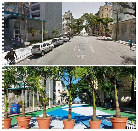 Av. Rio Branco, Recife, Brasil. Image © Urb-i