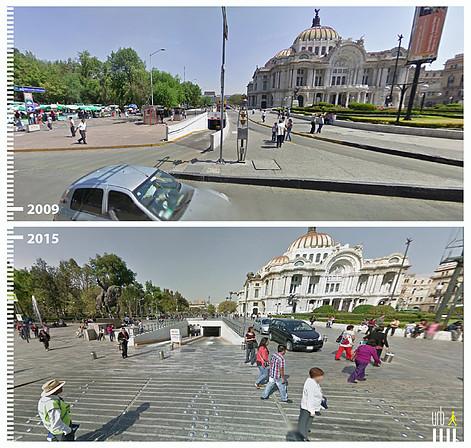 Avenida Juárez, Ciudad de México. Image © Urb-i
