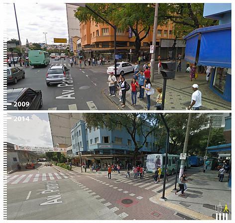 Avenida Parana, Belo Horizonte. Image © Urb-i