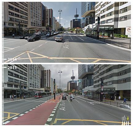 Avenida Paulista, Sao Paulo. Image © Urb-i