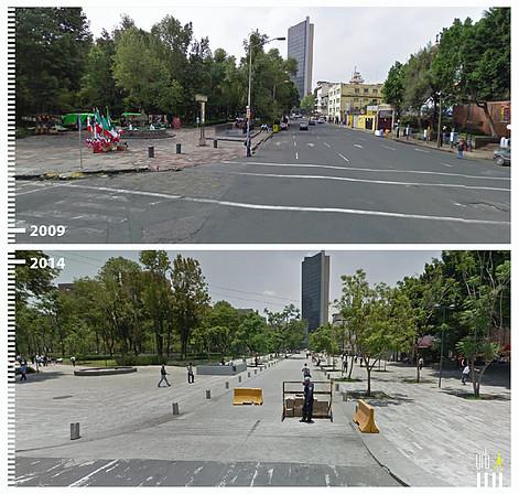 Dr. Mora, Ciudad de México. Image © Urb-i