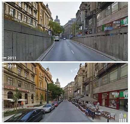Ferenciek Tere, Budapest Hungría. Image © Urb-i