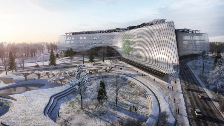 Zaha Hadid Architects Reveals Winning Proposal for Sberbank Technopark in Moscow, Courtesy of Zaha Hadid Architects