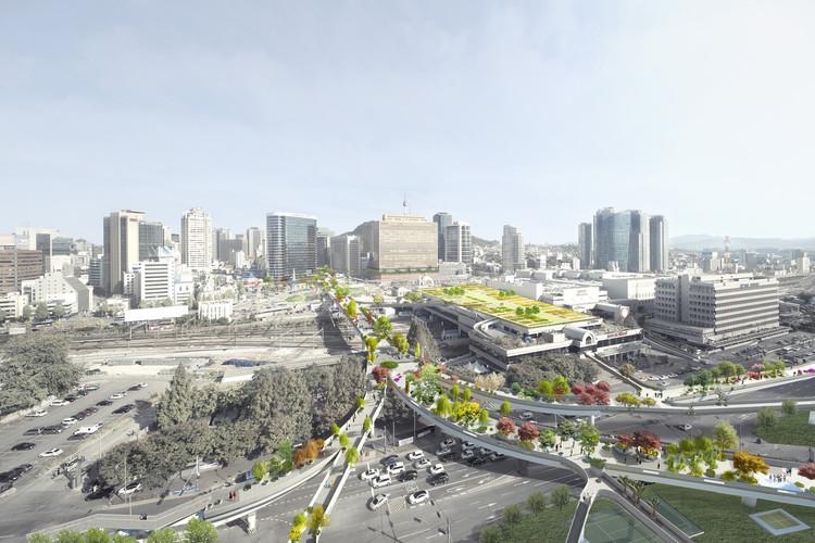 Seoul Skygarden, Seúl. Image © MVRDV