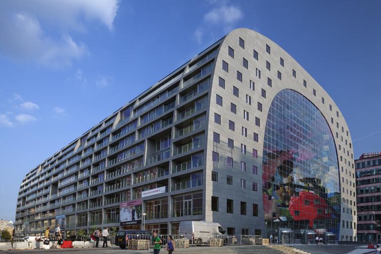 Sostenibilidad, arquitectura y branding: MVRDV en la FILBo de Bogotá , Markthal, Rotterdam. Image © Daria Scagliola + Stijn Brakkee