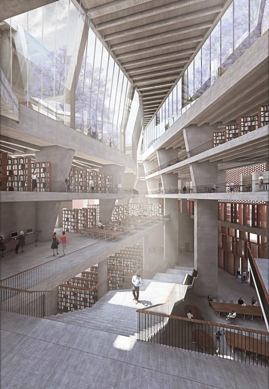 McCullough Mulvin Architects diseñan la extensión de una universidad en la India, Cortesía de McCullough Mulvin Architects