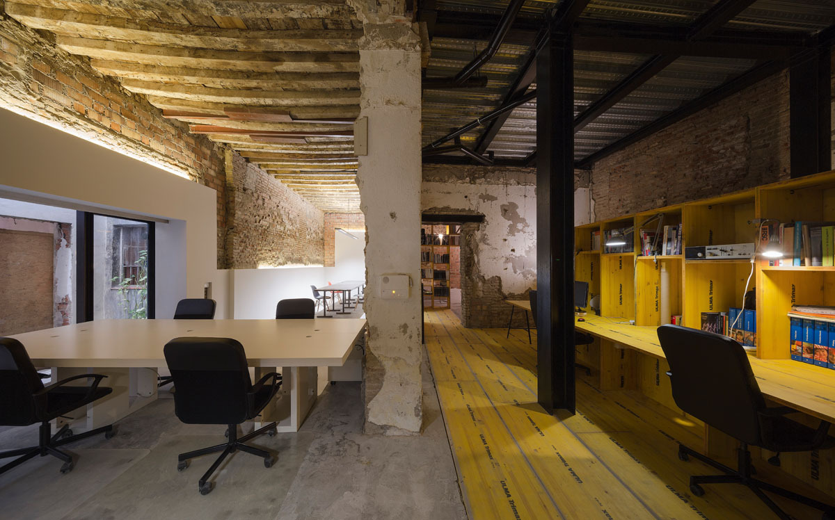 San jer nimo atelier cuac arquitectura archdaily for Interior 1 arquitectura