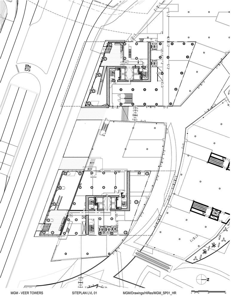 Veer Towers Floor Plan Three Bedroom Penthouse Vph 4: Gallery Of Veer Towers / Murphy/Jahn