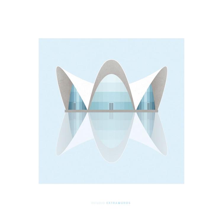 100 Day Project: ilustraciones arquitectónicas por Estudio Extramuros, Cortesía de Estudio Extramuros