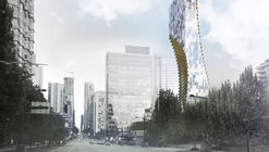 Kengo Kuma Unveils Mixed-Use Skyscraper in Vancouver