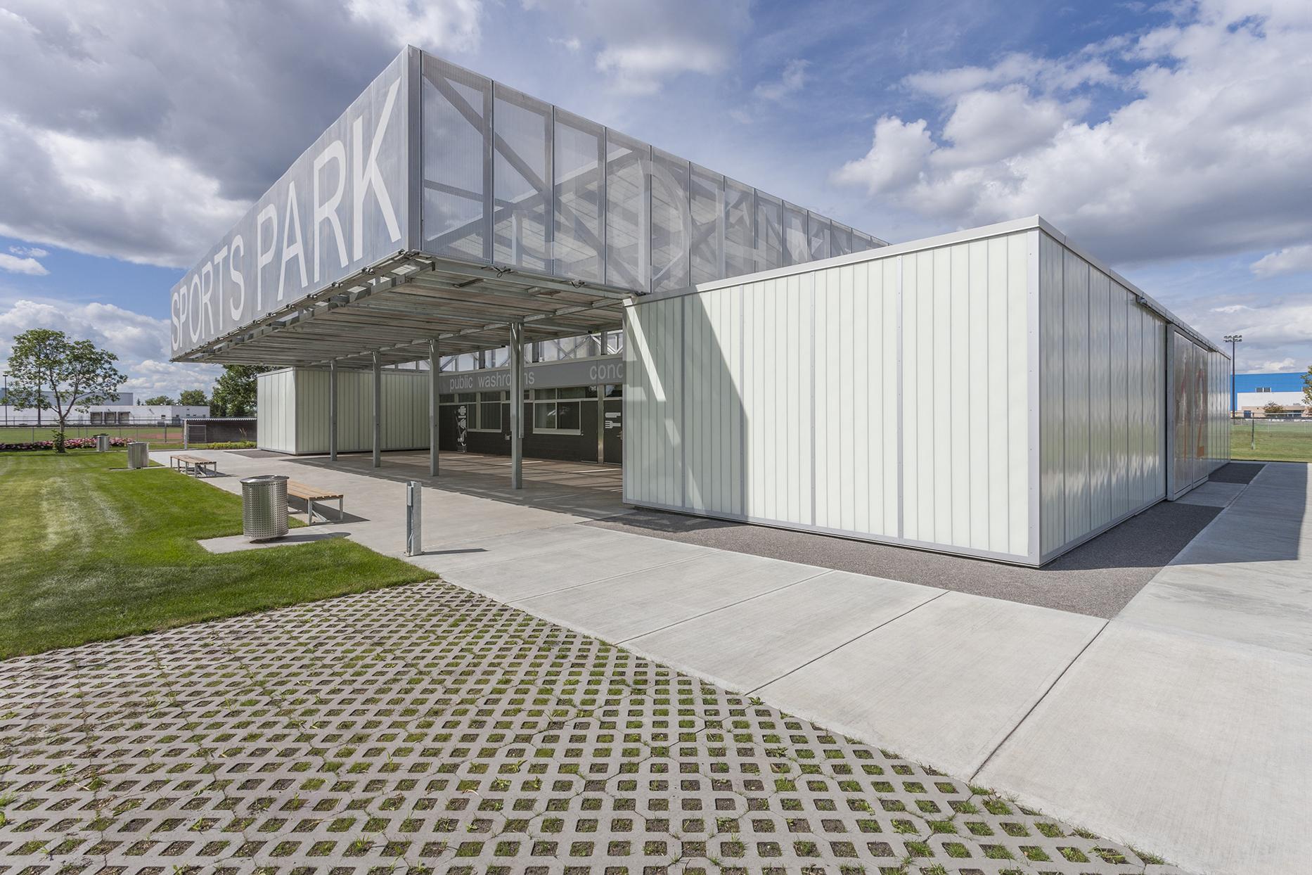 John Fry Sports Park Pavilion The Marc Boutin