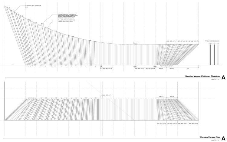 Veneer Plan + Elevation