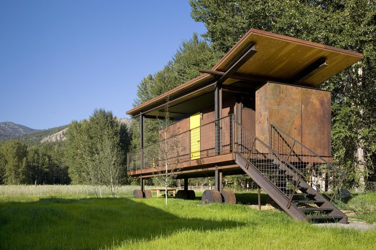 Courtesy of Olson Kundig Architects. Image © Chad Kirkpatrick