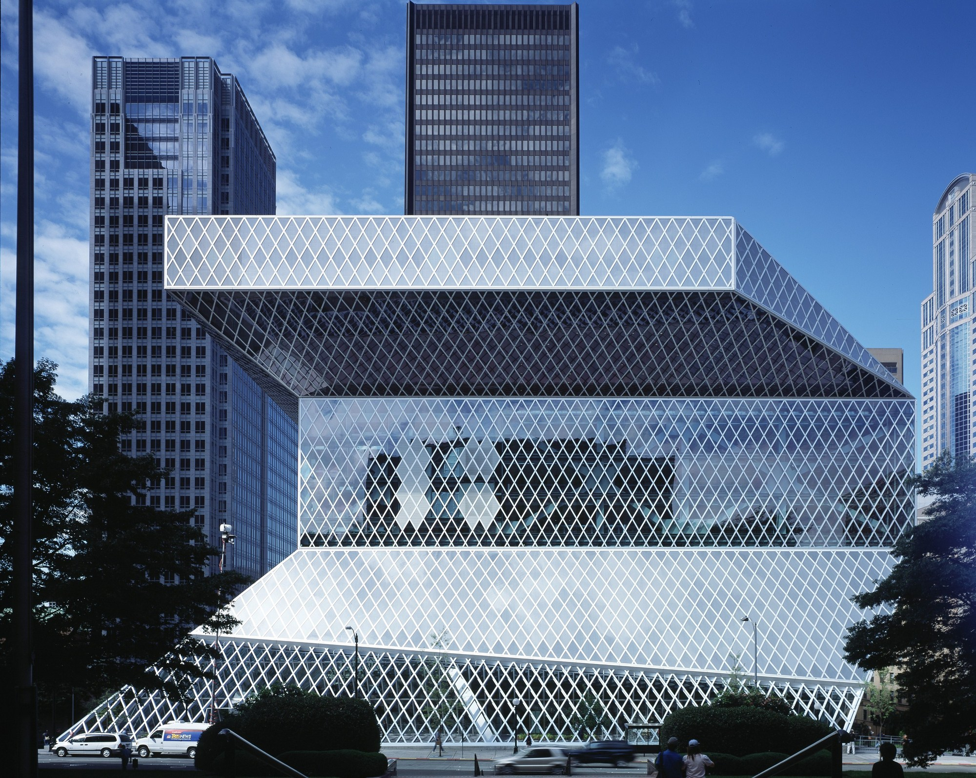 Gallery of seattle central library oma lmn 4 - Office for metropolitan architecture oma ...