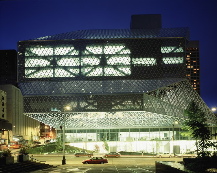 Seattle Central Library / OMA + LMN, © Philippe Ruault