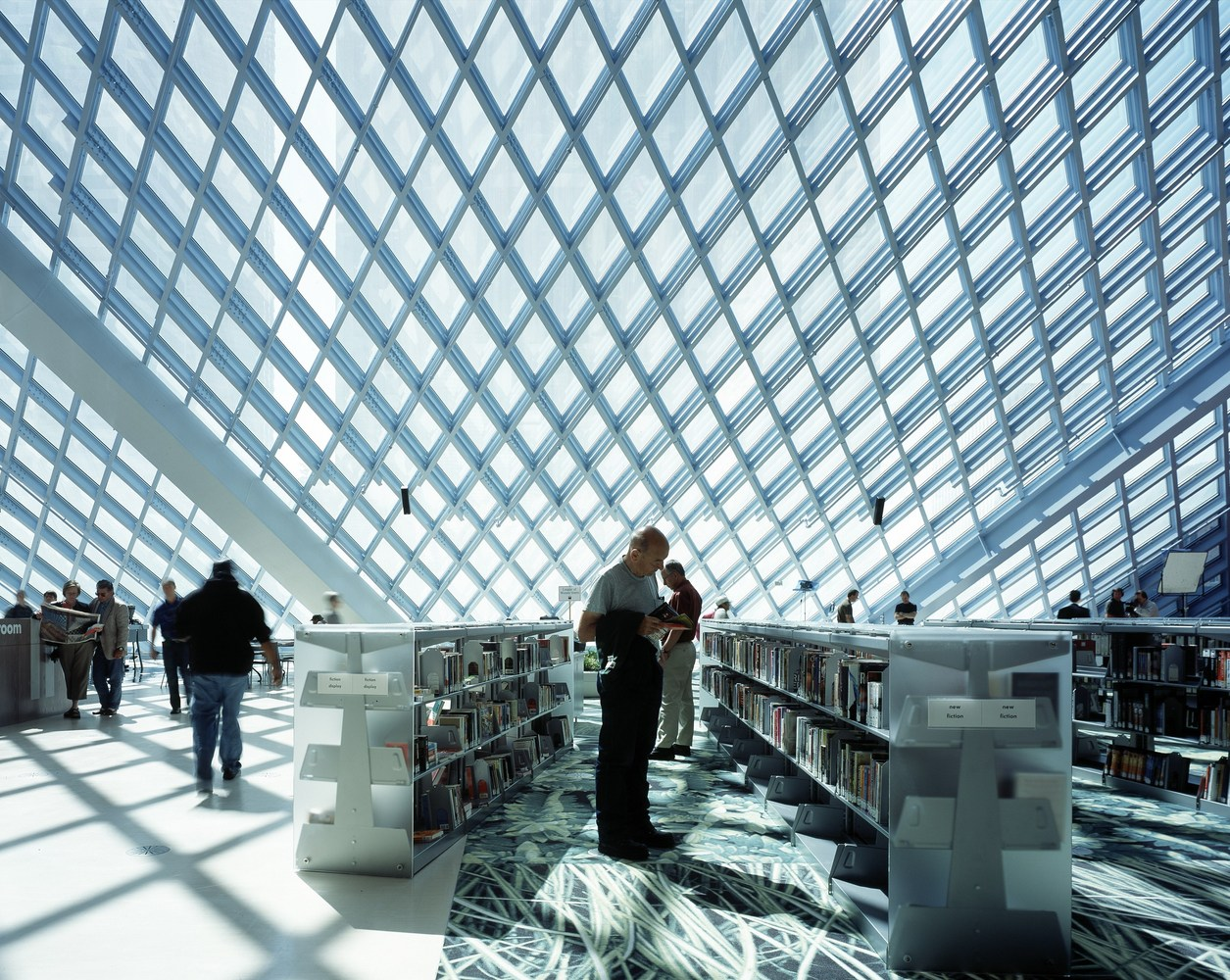 Gallery Of Seattle Central Library Oma Lmn 51