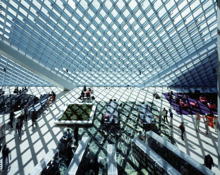 Seattle Central Library / OMA + LMN   ArchDaily