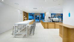Café Botella Azul / Schemata Architects
