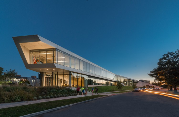 Centro Universitario Tinkham Veale, Case Western Reserve University / Perkins+Will, © Steinkamp Photography
