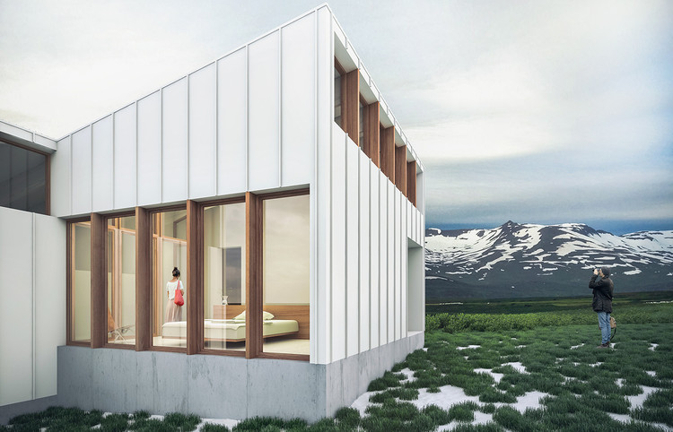 Diseño open-source de Panorama Architects para Paperhouses. Imagen cortesía de Paperhouses