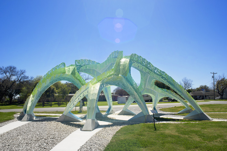 MARC FORNES/THEVERYMANY diseña 'Spineway' en San Antonio, Cortesía de Marc Fornes / THEVERYMANY