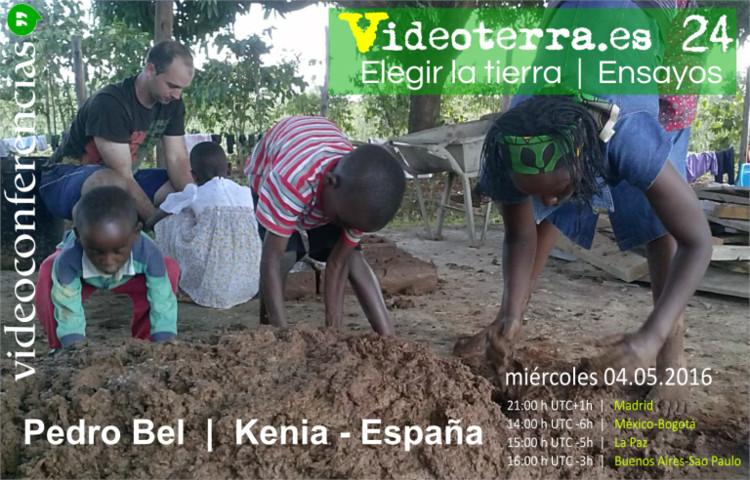 Streaming online de videoconferencia: Elegir la tierra por Pedro Bel, activadores urbanos
