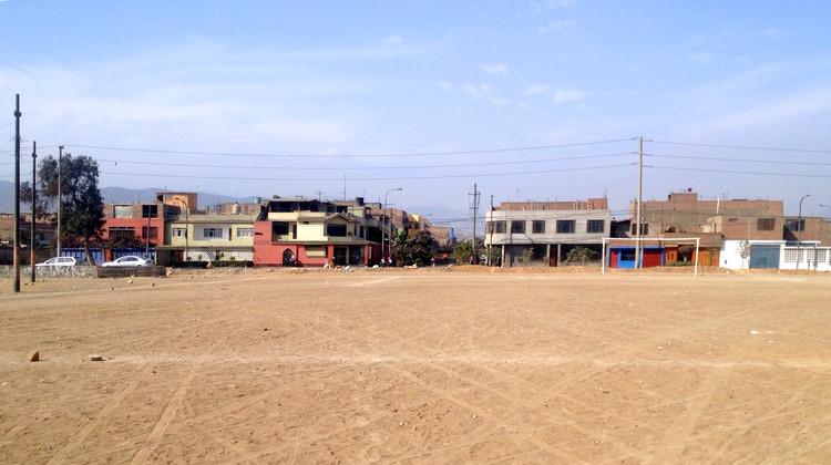 Pampa urbana de Canto Grande. Image vía Mapio.net