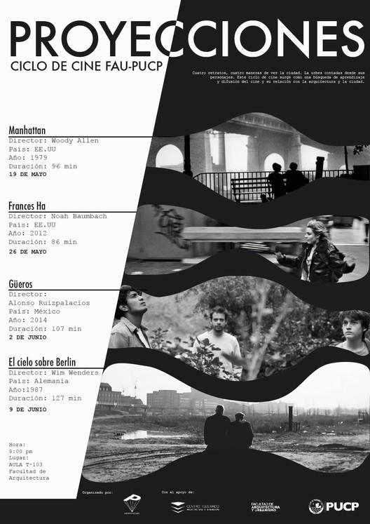 Proyecciones: Ciclo de cine FAU-PUCP - Un Retrato / Una Ciudad, Sergio Puch, Jose Peralta