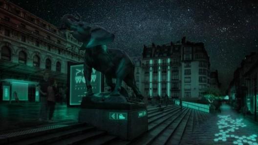 Un proyecto de biotecnología para iluminar calles y fachadas sin gastar electricidad, © Glowee