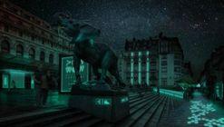 Un proyecto de biotecnología para iluminar calles y fachadas sin gastar electricidad