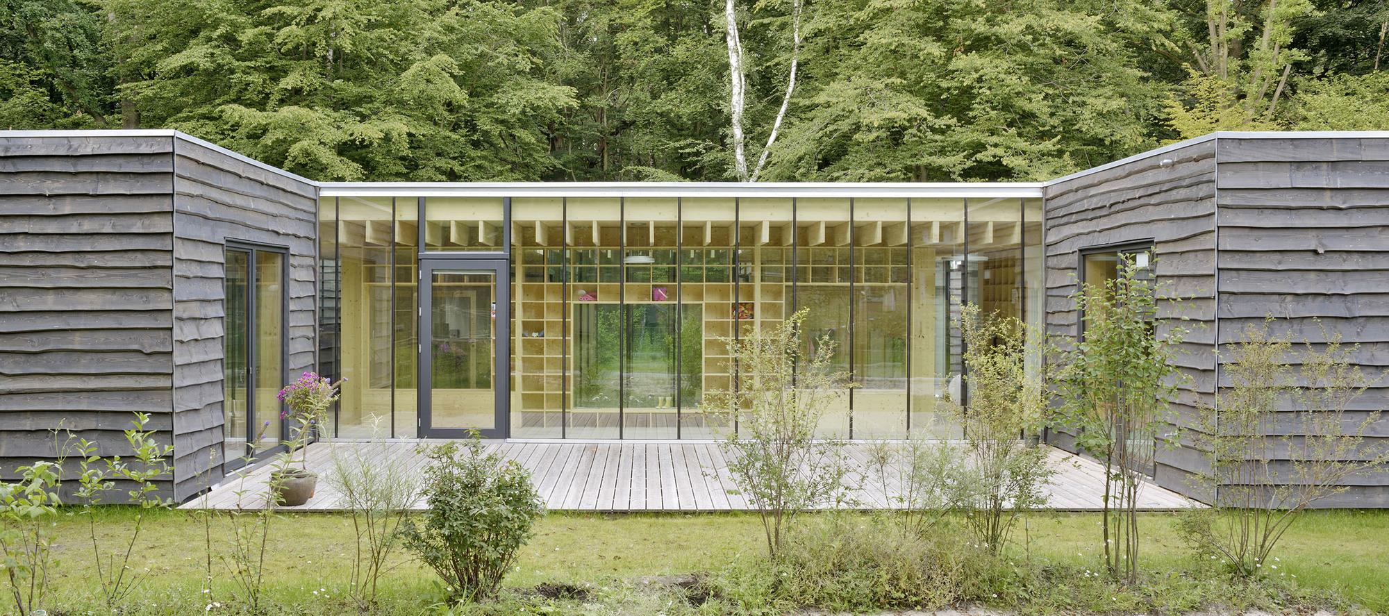 kinderkrippe nursery school kraus sch nberg architekten. Black Bedroom Furniture Sets. Home Design Ideas