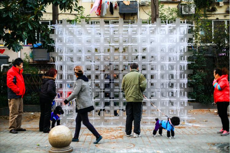 Temporary Permanence Installation / Arup Associates, © Lingxiao Zhang
