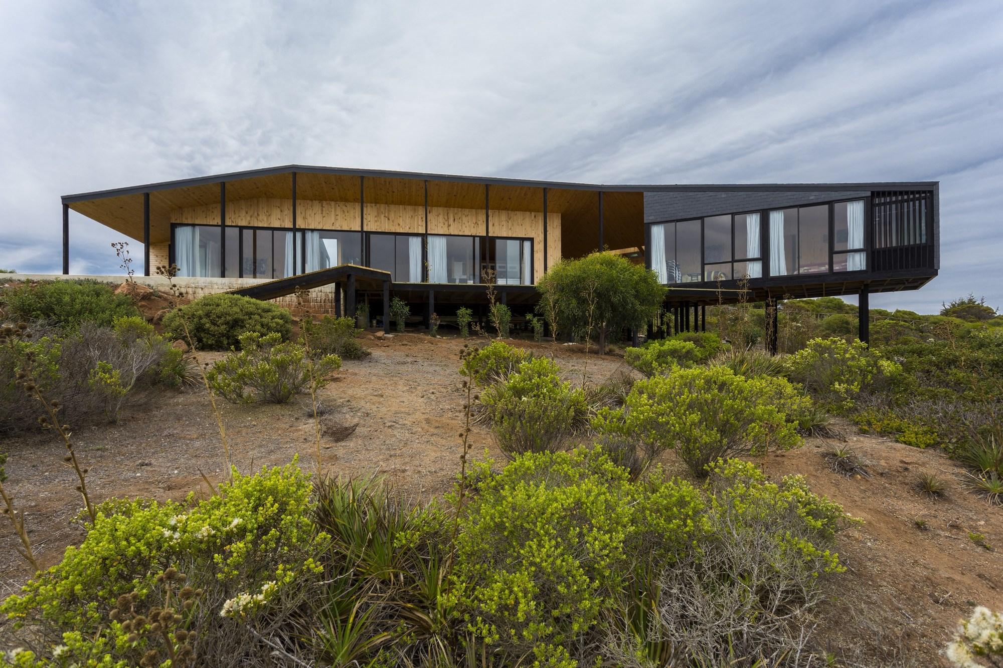 Ensignia gerber house of arquitectos archdaily - Casas de arquitectos ...