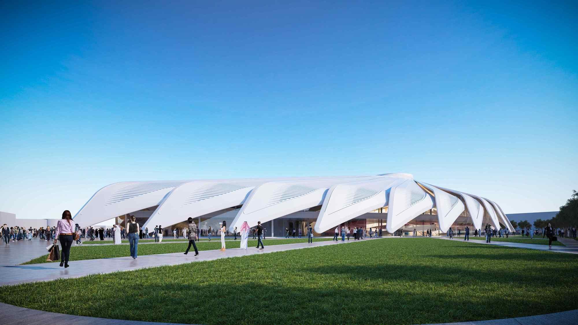 santiago calatrava disea el pabelln de los emiratos rabes unidos para la expo dubai