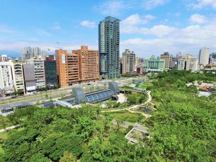 Estación Parque Daan MRT de Taipei / Che Fu Chang Architects, © Yueh-Lun Tsai