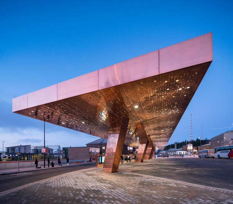 Centro para Viajeros Lahti / JKMM Architects , © Mika Huisman