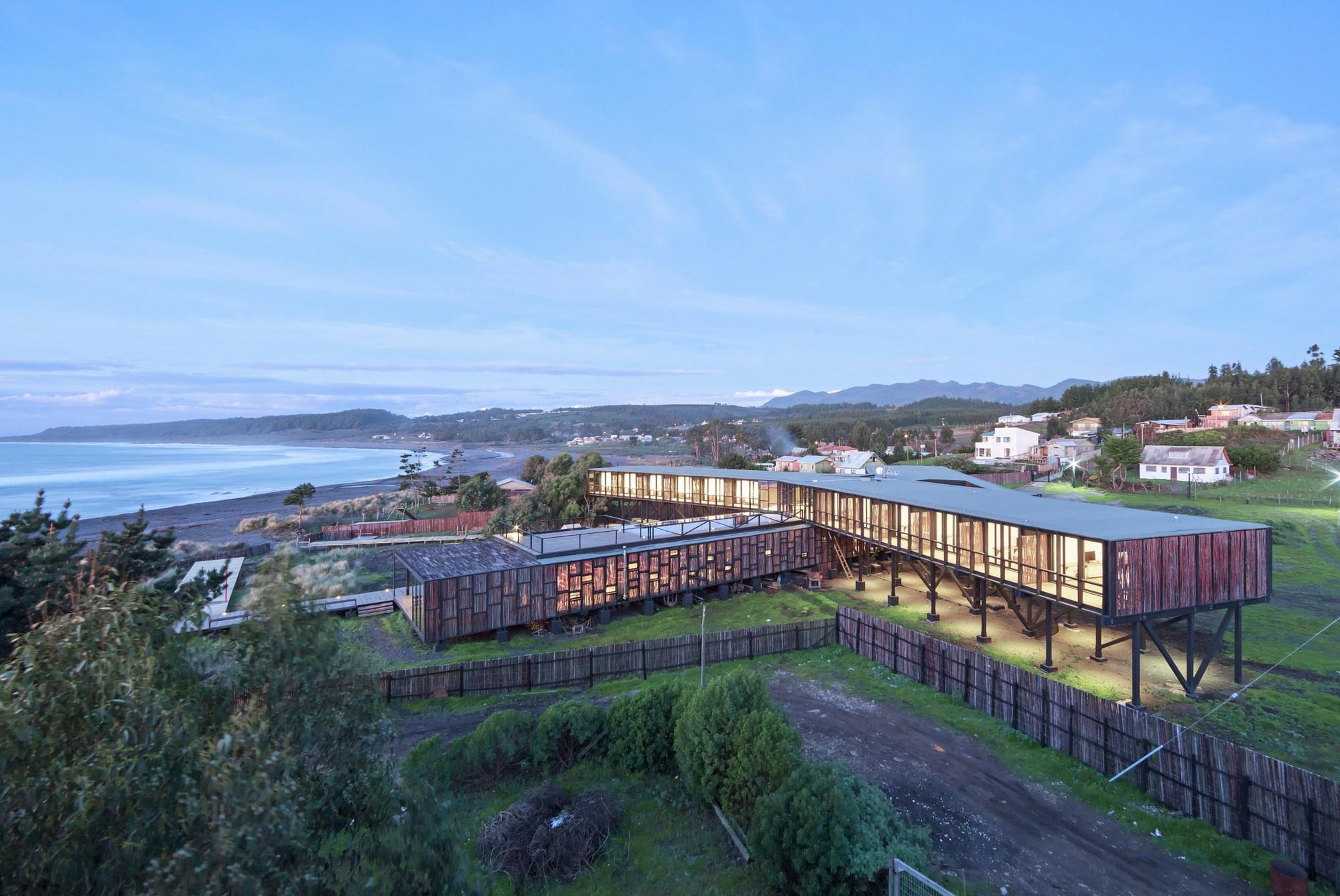 Hotel punta sirena wmr arquitectos plataforma arquitectura for Arquitectura de hoteles