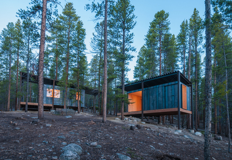 April's Project of the Month: Colorado Outward Bound Micro Cabins, © Jesse Kuroiwa