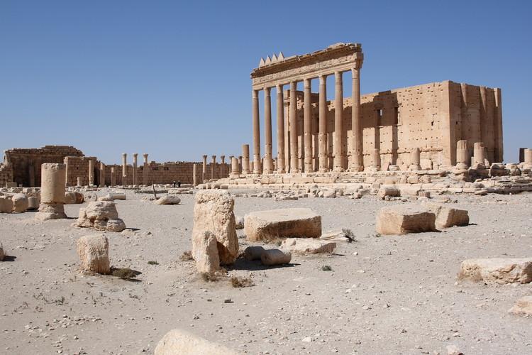 Templo de Bel en Palmira antes de la ocupación por parte del Estado Islámico. Imagen © Flickr User Jiří Suchomel bajo licencia CC BY-NC-ND 2.0