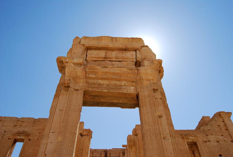 Templo de Bel en Palmira antes de la ocupación por parte del Estado Islámico. Imagen © Flickr User Alessandra Kocman bajo licencia CC BY-NC-ND 2.0